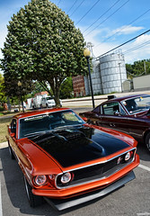 1969 Ford Mustang (Chad Horwedel) Tags: 1969fordmustang fordmustang ford mustang classic car yorkvillecruisenight yorkville illinois