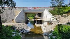 Progress new Cycleway (John Steam) Tags: neubau eisenbahnbrücke railway bridge cycleway railroad alterbach salzburg austria gnigl sam baufortschritt progress 2018 radweg öbb oebb