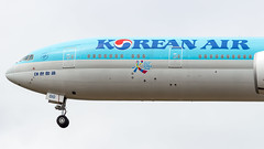 Boeing 777-3B5(ER) HL8010 Korean Air Lines - Visit Korea Year Sticker (William Musculus) Tags: burien washington étatsunis us seattle airport spotting tacoma seatac sea ksea hl8010 korean air lines boeing 7773b5er 777300er visit korea year 2016 2018 sticker kal ke special scheme livery william musculus