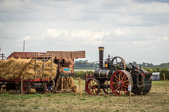 Casterton Vintage Working Weekend 2018 (Ben Matthews1992) Tags: little casterton great rutland leicestershire old vintage historic preserved preserv ation vehicle agricultural agriculture general purpose tractor 1930 ruston hornsby traction engine 161250 fw1509 steam