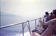 Hello Gilis! (Juha Helosuo) Tags: indonesia gili bali lombok island hopping boat ride travel 35mm analog film photography olympus mju 2 ii grain dust color expired people traveling epson perfection4990 scan