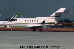 N500HF (PHLAIRLINE.COM) Tags: philadelphiainternationalairport kphl phl bizjet spotting spotter airline generalaviation planes flight airlines philly