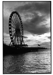 wheel (jollyville) Tags: blackandwhite 35mm leica leicam2 voigtlander colorskopar35mmf25 35mmf25 fp4 ilfordfp4 rodinal seattle
