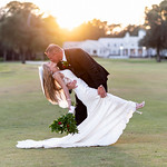 Dip in the sunset behind the clubhouse - Pawleys Plantation thumbnail