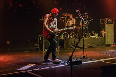 The Damned, Southampton Guildhall 22-08-2018 019 (Matt_Rayner) Tags: southamptonguildhall live punk concert thedamned captainsensible guitar pinch drummer