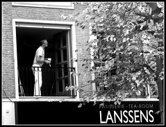 Painterman (Jan Herremans) Tags: europe belgium bw lokeren candid painter