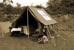 WW2 Medical Tent (big_jeff_leo) Tags: ww2 military reenactment uppermill war secondworldwar