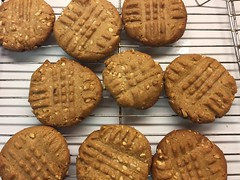 Peanutty Goodness! (Philosopher Queen) Tags: baking cookies yummy peanuts peanutbuttercookies