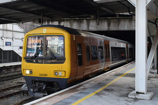 WMT 323209 @ Birmingham New Street station