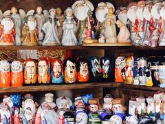 Izmailovo Kremlin, Moscow (Miranda Ruiter) Tags: genesimmons mickjagger hitler yurigagarin johnlennon putin photography handmade russian figurines matroesjka souvenirs market izmailovomarket izmailovo russia moscow