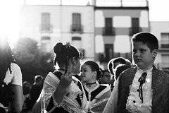 9. The young participants of the procession - 2. The small people, but a great responsibility. (GlebLv) Tags: sony a6000 sel50f18 spain espana vinaroz fiesta fest santjoanisantpere