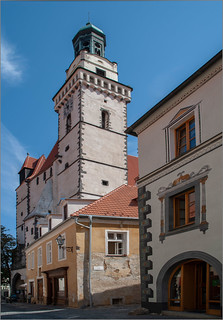 Die St. Jakob's-Kirche in Prachatice / The St. Jacob's Church in Prachatice