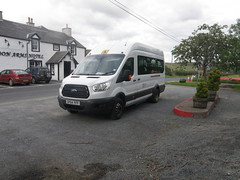 Ford Transit - SP64YFF (cessna152towser) Tags: fordtransit minibus