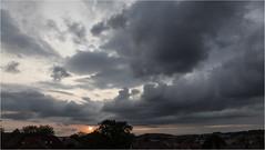 Sunset & Clouds (:: Blende 22 ::) Tags: germany german deutschland thuringia thüringen eichsfeld landkreis eic heilbadheiligenstadt heiligenstadt sunset sonnenstrahlen sonnenuntergang sonne sun clouds cloudy canoneos5dmarkiv sky himmel licht light ef2470mmf28liiusm