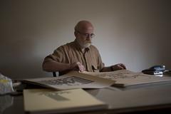 Mouneer Elshaarani (Haleem Elsha3rani حليم الشعراني) Tags: father portrait photography calligraphy syrian syria egypt cairo