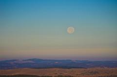 coucher de Lune sur les cévennes (Denis Vandewalle) Tags: moon moonset lune paysage sky cévennes ciel