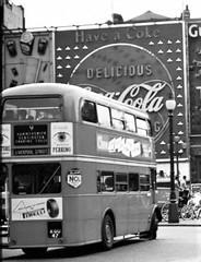 London transport RTL597 on route 9 circa 1960. (Ledlon89) Tags: bus buses london transport lt lte lptb londontransport londonbus londonbuses