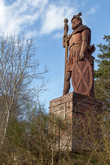 Wallace Monument (itmpa) Tags: wallacemonument williamwallace statue bemersyde johnsmith 1814 1800s redsandstone listed categoryb scottishborders borders scotland archhist itmpa tomparnell canon 6d canon6d