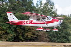 D-EHPO - Cessna 172C Skyhawk - Private (MikeSierraPhotography) Tags: air airport country deutschland edrv germany spotting town wershofen eifel flugplatzfest dehpo cessna 172c skyhawk