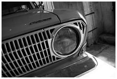 FORD 12m P6 1968 - Einzelsitze vorne (RadarO´Reilly) Tags: ford auto car oldtimer essen mischanlage zechezollverein sw schwarzweis bw blackwhite blanconegro monochrome noiretblanc zwartwit