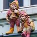 Ghent building ornaments - Belgium