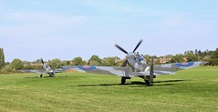 IMG_1538 (lesleydoubleday) Tags: victoryshow aeroplanes cosby spitfire