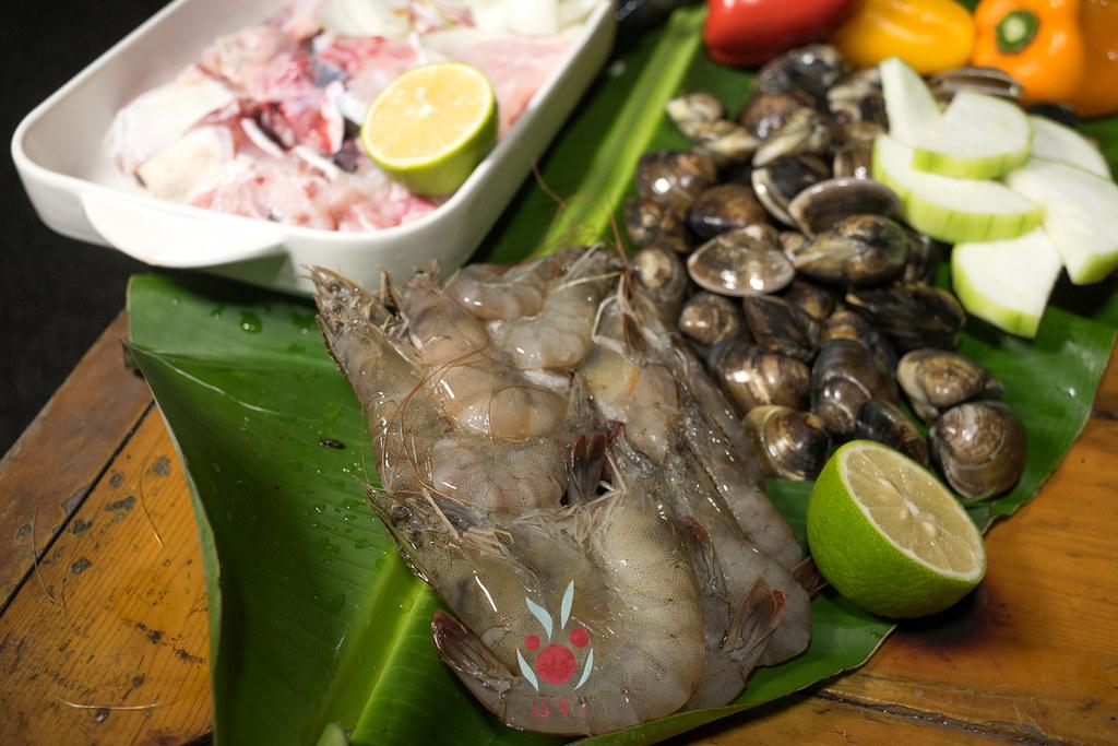 最奢華的中秋烤肉組 海鮮大集合之 龍膽石斑、泰國蝦、蚵、大卷 |小農聯盟6