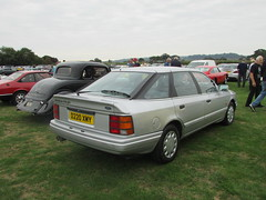 Ford Granada 2.8i Ghia D220XMY (Andrew 2.8i) Tags: haynes motor museum breakfast meet sparkford yeovil somerset show classic classics cars car autos german hatch hatchback mark 3 mk mk3 scorpio ghia 28 28i 2800 v6 cologne granada ford