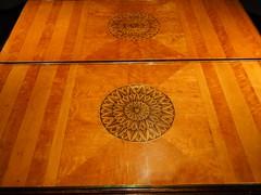 P8141706 (simonrwilkinson) Tags: nationaltrust worcestershire croomecourt croomepark commode wood inlay