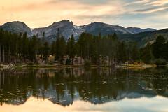Last Light over Sprague Lake (davidgevert) Tags: alpinelake coloradolandscape coloradosunset davidgevert gevertphotography lake lakereflection lakereflections landscapephotography mountains nikond850 nikonlandscape reflection rockymountainnationalpark rockymountains spraguelake water nikon50mmf18g longexposure