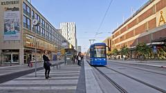 I och med denna vecka så finns det en spårvagnshållplats vid Åhléns City minsann (T-Centralen) (Franz Airiman) Tags: stockholm sweden scandinavia spårvagn tram a34 bombardier flexityclassic sl kollektivtrafik publictransport commutertransport commute pendling pendlare commuter