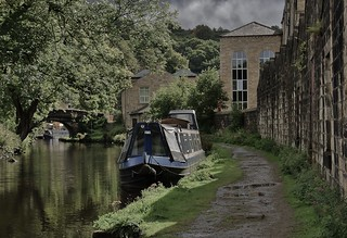 Sunshine and Showers: Hollins Mill...