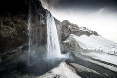 Islande, Skógafoss, 53 (Patrick.Raymond (4M views)) Tags: islande hiver gel froid neige hdr cascade waterfall