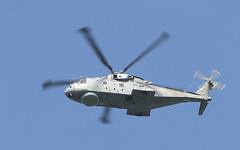 Merlin helicopter. (wurzel.pete.3.7 Million views,Ta!) Tags: 10918 royalnavy merlin helicopter fly flight sky blue uk surrey warwickwold canon7d eos