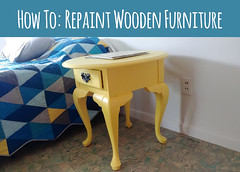 How To Repaint Wooden Furniture So It Doesn't Peel in 5 Years! (osiristhe) Tags: cellphone painting furniture decor