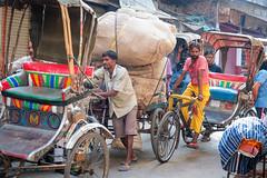 RESPECT  ..Rickshaw-wallah ..Varanasi India (geolis06) Tags: geolis06 asia asie inde india uttarpradesh varanasi benares street rue olympus olympusm1240mmf28 olympuspenf banaras rickshawwallah rickshaw