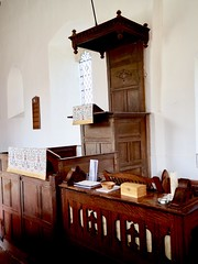 Pulpit St Mary's Church Withersdale Suffolk (Simon Ross Photos) Tags: stmaryschurch withersdale suffolk churches pulpit olympus penf 2018