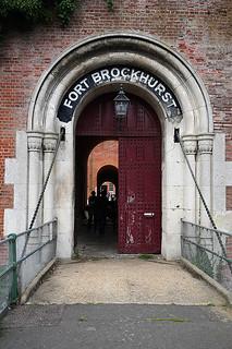 Fort Brockhurst Drawbridge and Keep