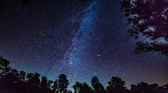 Night sky with milky way (clemensgilles) Tags: galaxy galaxie chasingstars availablelight vulkaneifel darkness stars starlight milkyway milchstrase sternenhimmel deutschland eifel germany