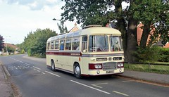APW 829B, Preserved Eastern Counties Bristol LS 829, Rendlesham, 15th. September 2018. (Crewcastrian) Tags: rendlesham transport buses easterncounties ipswichtransportmuseum bristol ecw apw829b ls829 preservation