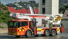 Thorndon 235 (111 Emergency) Tags: thorndon 235 bronto skylift fire appliance engine nz wellington fenz mercedes benz