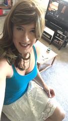 Trying for a Cali girl look... thoughts? (amber.lynn88) Tags: m2f crossdressing crossdress tgurl tgirl trans