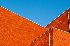 Architectural design architecture - Credit to https://homegets.com/ (davidstewartgets) Tags: architectural design architecture beautiful blue sky brick texture wall walls bricks building exterior color construction contemporary expression facade geometric low angle photography minimalism minimalistic modern outdoor perspective photographic composition red roof window