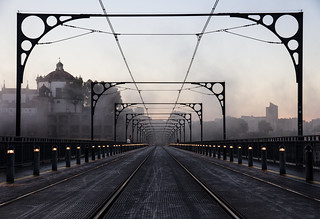 Dom Luís I Bridge, Porto.
