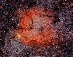 Nebulosa Trompa de Elefante en la constelación de cefeo (Alfredo Madrigal) Tags: astrophotography astronomy cielo sky estrellas stars cefeo cepheus