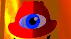 The one-eyed king in the land of the blind (pastadimama) Tags: macro abstract art eye king blind theoneeyedkinginthelandoftheblind