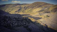 looking down on to cwmorthin from Wrysgan Quarry (Mark G Turner) Tags: cwmorthin quarry slate wales welsh wrysgan