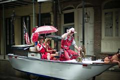 The Streets of New Orleans (michael.mu) Tags: leica neworleans noctilux reddress m240 reddressrun frenchquarter louisiana red boat americana leicanoctiluxm50mmf095asph streetphotography