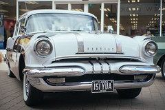 Pontiac (Rich Presswood) Tags: fujixpro2 7artisans 35mmf12 lightroom provia400x car vintage f12 50mm pontiac motorcar chesterfield