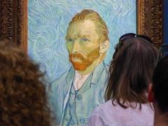 VanGogh (m.hunkin) Tags: paris france 2018 august vincentvangoch vangough museedorsay selfportrait crowds art impressionist impressionism oldmaster